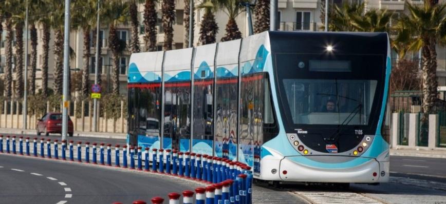 Çiğli Tramvay Projesinin Temeli Atıldı