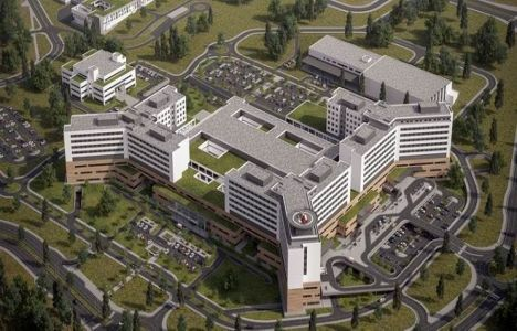 Elazığ Şehir Hastanesi'nin Kaba inşaatında Sona Gelindi!