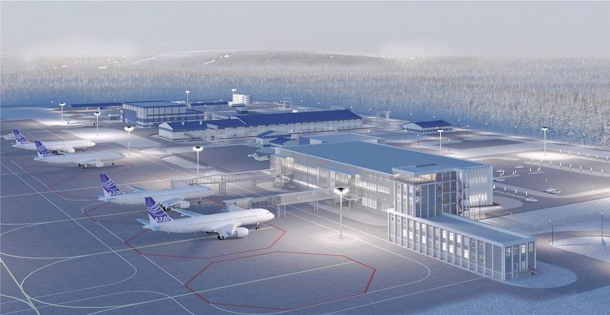 Ant Yapı Mirny Uçak Terminali'ni İnşa Edecek