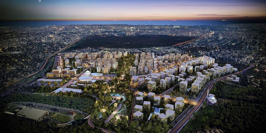 Sur Yapı Antalya Projesinde 13 Blokta Yaşam Başlıyor