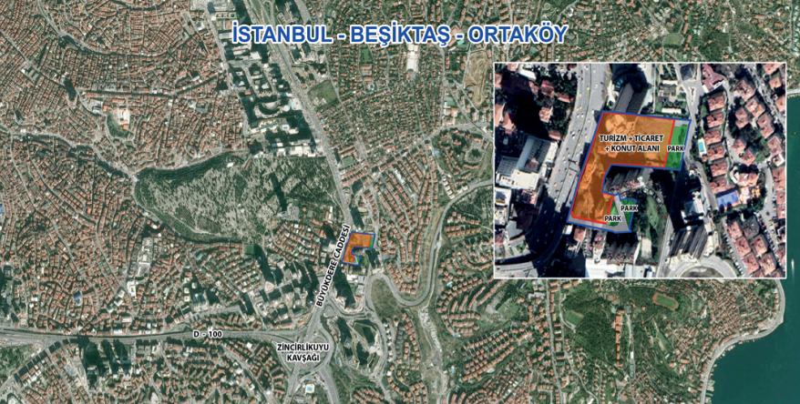 Emlak Konut Beşiktaş Ortaköy Arsa İhale Sonucu