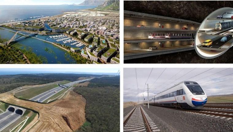 Dünyanın En Büyük 10 Projesinden 6'sı Türkiye'den