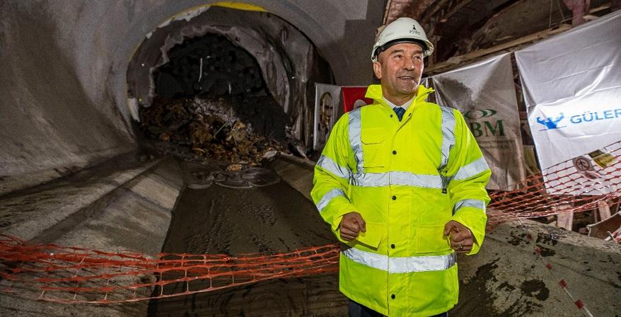 Narlıdere Metrosunda Tünel İnşaatı Tamamlandı