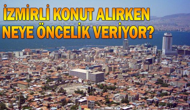 İzmirlilerin Emlak Satın Almadaki Öncelikler