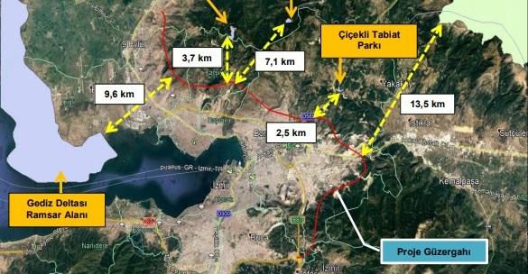 İzmir'e 5 Milyar TL'lik İkinci Çevreyolu: Güzergahı Belli Oldu