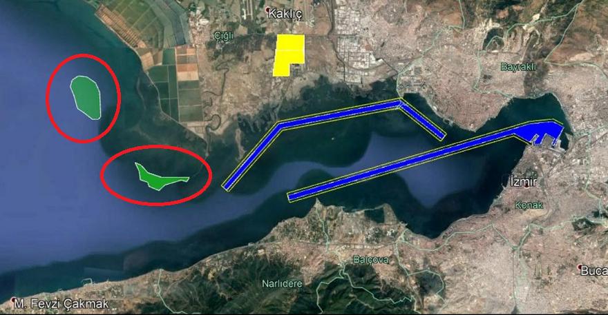 İzmir Körfezine İnşa Edilecek 2 Adanın Detayları Belli Oldu