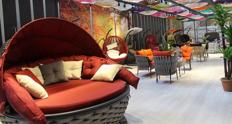 MODEKO 2021 Mobilya Fuarı'nda Bahçe Mobilyalarına Büyük İlgi