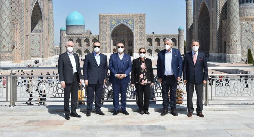 Türk Müteahhitlerin Özbekistan'daki İş Hacmi Arttı
