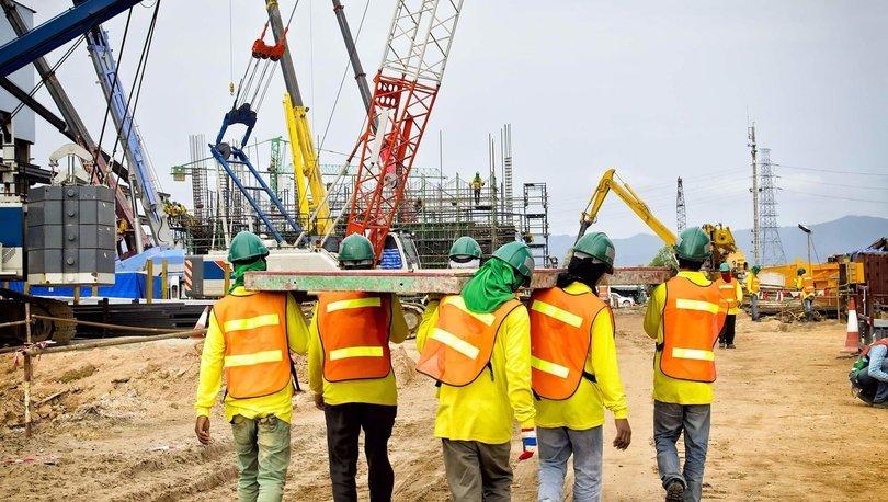 İnşaat Sektöründe İstihdam 37 Bin Kişi Arttı