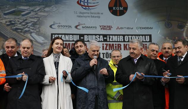 İzmir-İstanbul Otoyolu'nda 26 Kilometrelik Kısım Açıldı