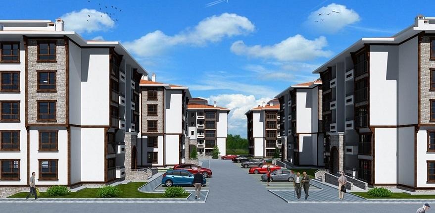TOKİ'den Tuzla'ya 508 Konutluk Yeni Proje