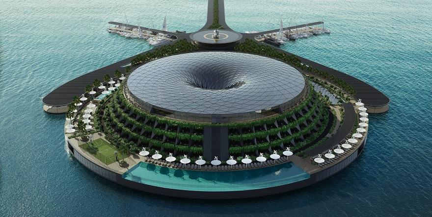 Dünyanın İlk Yüzen Otelini Türk Mimarlar Tasarlayacak