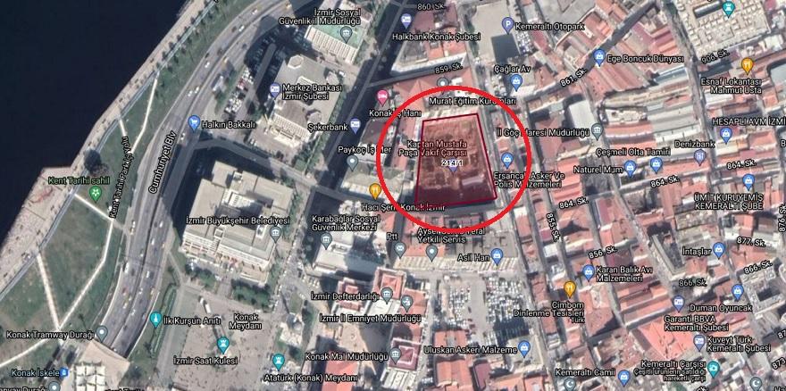İzmir Vakıflar Müdürlüğü'nden 15 Milyon TL'lik Onarım Karşılığı Kiralama İhalesi