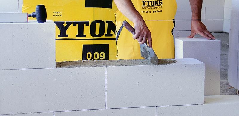 Deprem Güçlendirme Projelerinde Ytong 0,09 Bloklar Tercih Ediliyor