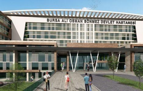 Bursa Ali Osman Sönmez Devlet Hastanesi Temeli Yarın Atılıyor!