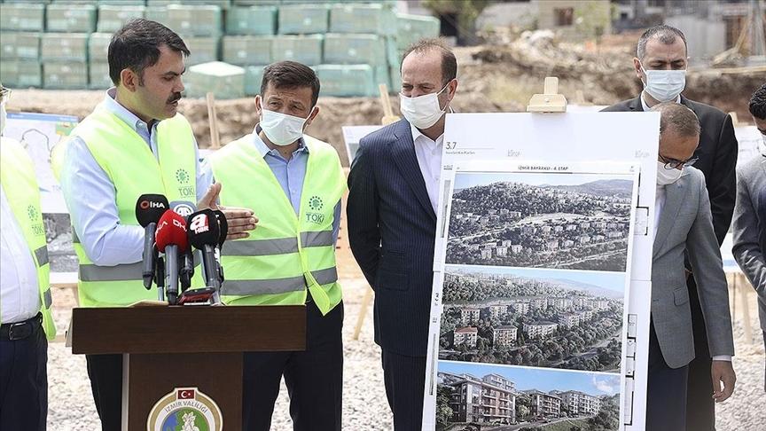 İzmir'e Kentsel Dönüşüm İçin 2 Milyar 200 Milyon Liralık Yatırım