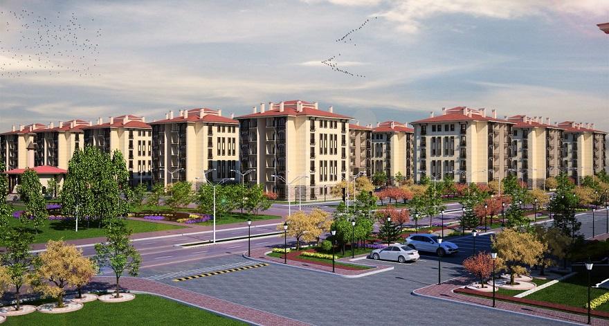 Toki'den Ankara'nın 3 İlçesine 842 Yeni Konut