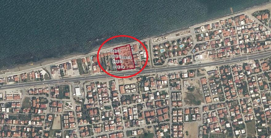 Urla'da Denize Sıfır Arsaya Konut İmarı