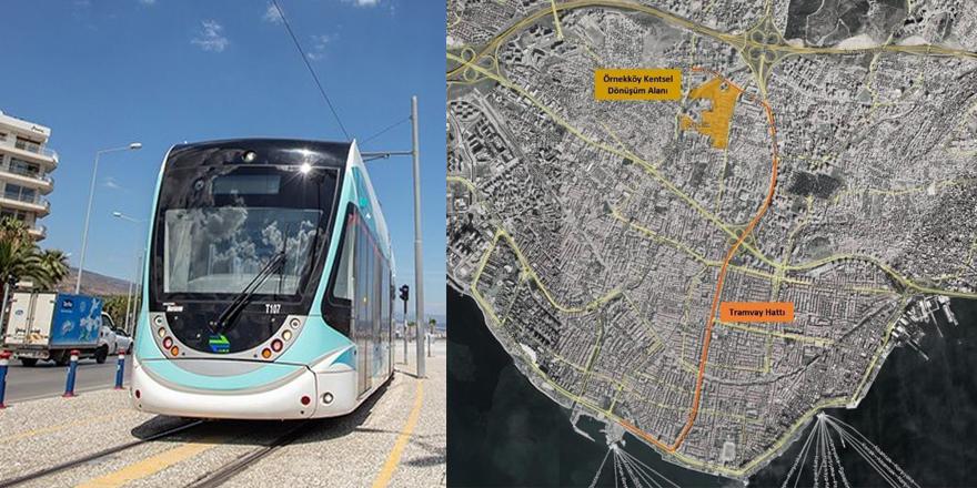 Karşıyaka-Örnekköy Tramvay Hattı Geliyor