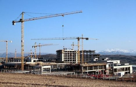 Elazığ Şehir Hastanesi'nde İnşaatın Yüzde 30'u Tamamlandı