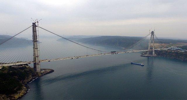 Yavuz Sultan Selim Köprüsü 4 ay boyunca 9.9 lira