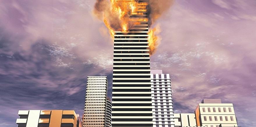 Yüksek Binalarda Cephe Yangınları Son 30 Yılda 7 Kat Arttı