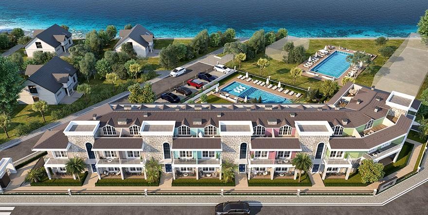 Kılıçoğlu İnşaat'tan Denize Sıfır Konut ve Otel Projesi