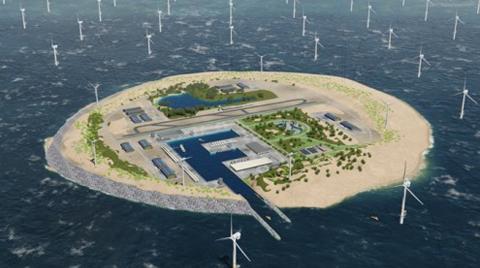 Kuzey Denizi'ne yapay ada inşa edilecek!