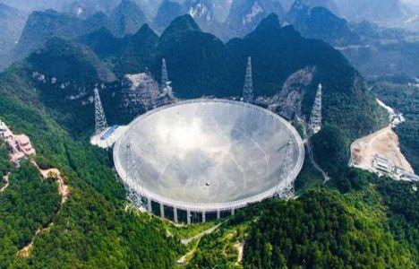 Çin'deki Küresel Diyafram Radyo Teleskobu Ziyarete Açıldı!