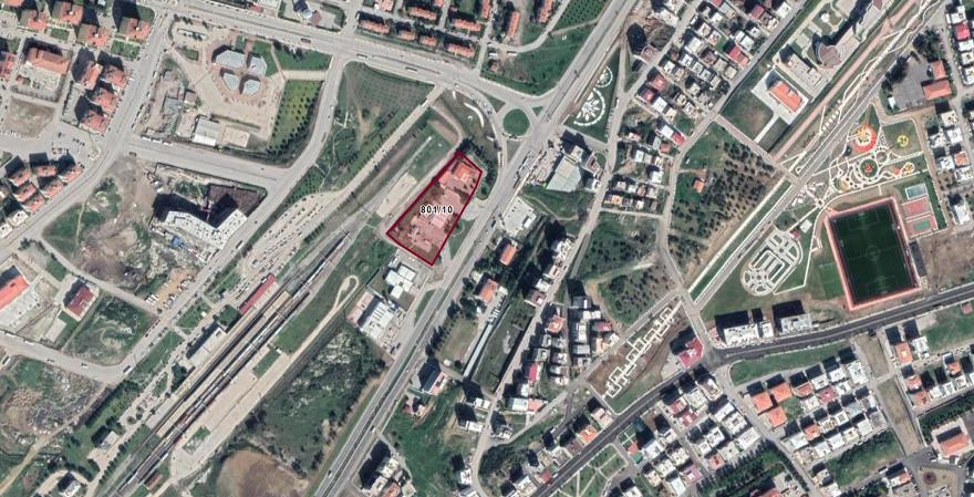 Aliağa Belediyesi'nin Benzin İstasyonu İmarlı Arsasına Ticaret Alanı İmarı