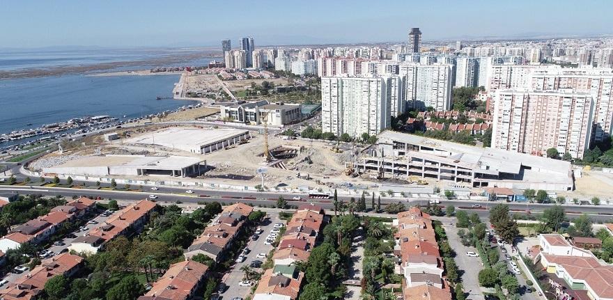 İzmir Opera Binası İnşaatının Yüzde 45'i Tamamlandı