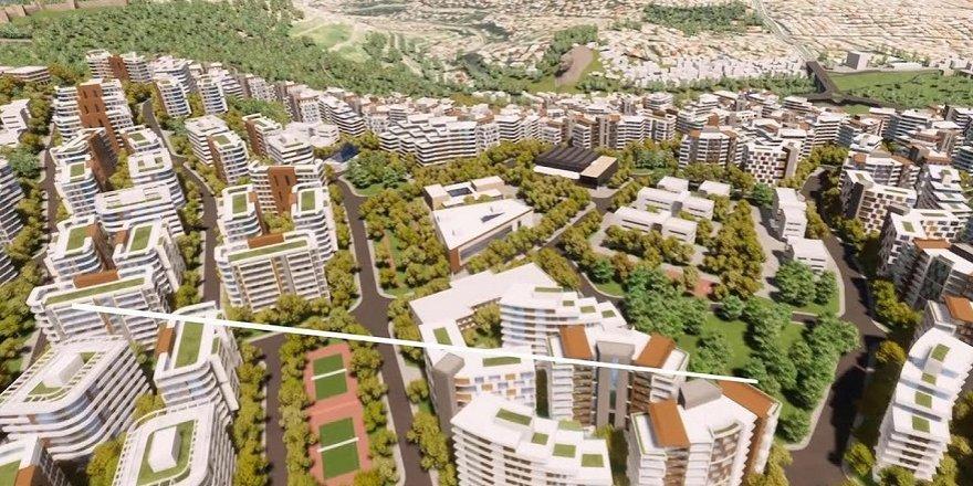 İzmir Konak Beştepeler Kentsel Dönüşüm Planları Askıya Çıktı
