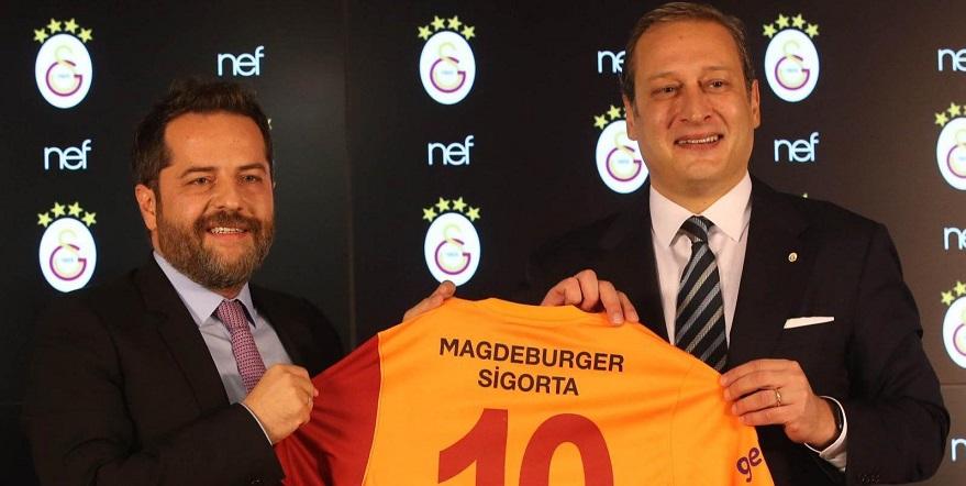 Galatasaray'ın Yeni Sponsoru NEF İnşaat Oldu