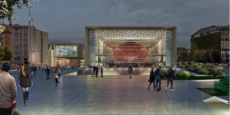 Atatürk Kültür Merkezi'nin Açılışı İçin Geri Sayım Başladı