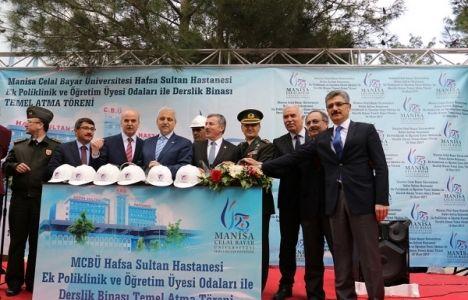 Manisa Hafsa Sultan Hastanesi'ne Ek Bina Geliyor!