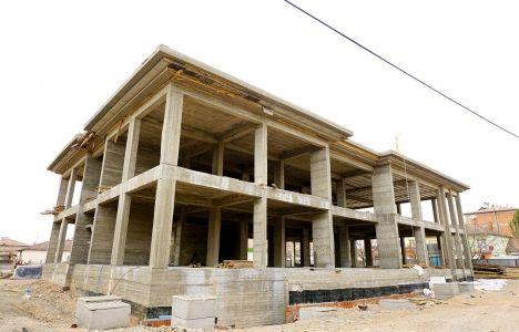 Malatya Yazıhan Kültür Merkezi'nin Kaba İnşaatı Bitti!