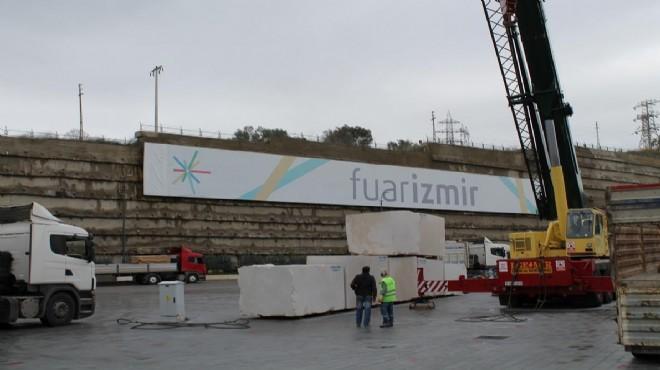 Fuar İzmir'de MARBLE Hazırlıkları Bitti