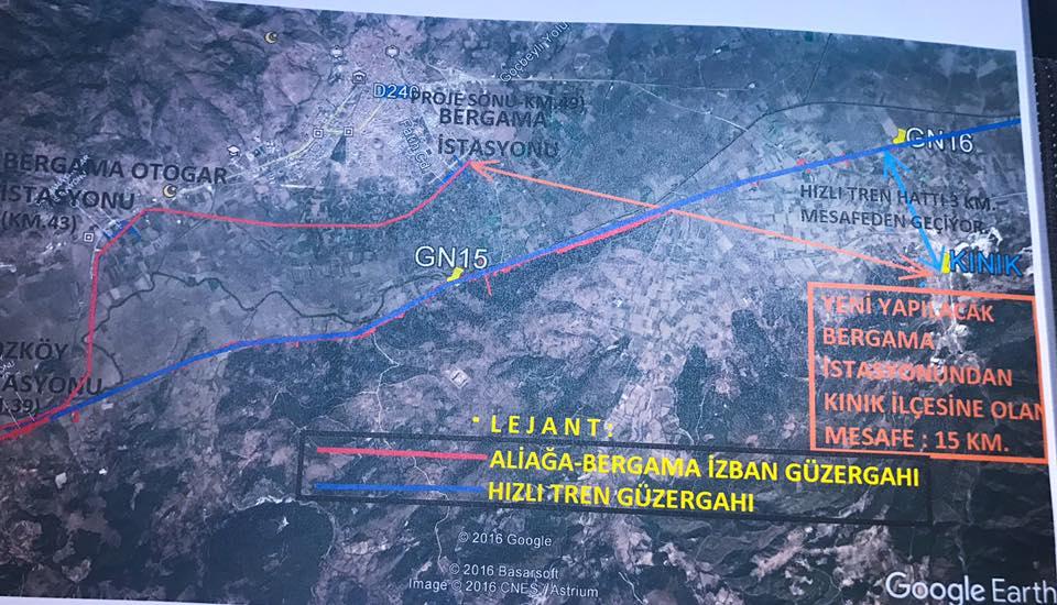 Aliağa-Bergama-Kınık İZBAN Projesinde İlk Adım Atıldı