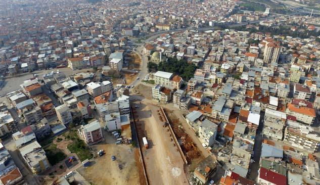 Buca-Bornova Arasını 10 Dakikaya Düşürecek Proje Başladı