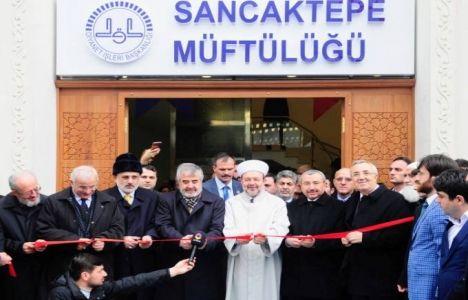 Sancaktepe İlçe Müftülük Binası Açıldı!