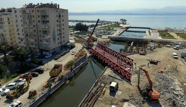 Tramvay İçin 150 Tonluk Çelik Köprü