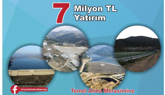 Orman Ve Su İşleri Bakanlığı'ndan İzmir'e 2 Yeni Tesis