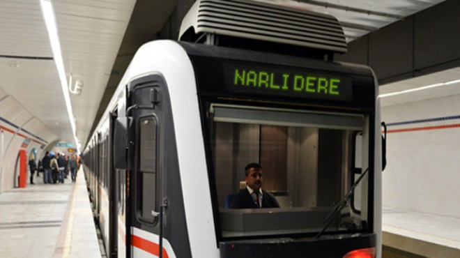 Narlıdere Metrosunda 2 Durak İptal