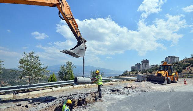 Bornova'nın 3 Mahallesine 3 Milyonluk Kanal Yatırımı