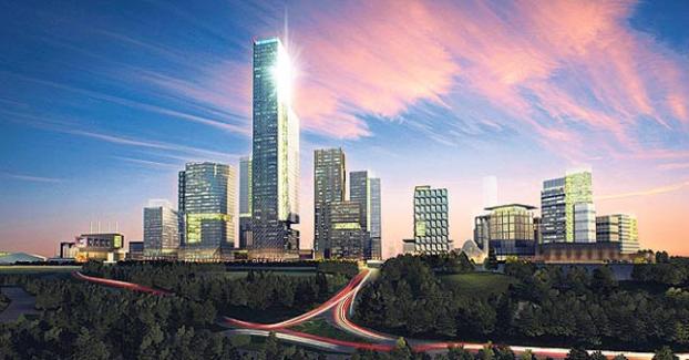 İstanbul Finans Merkezi'nin Temeli Atıldı