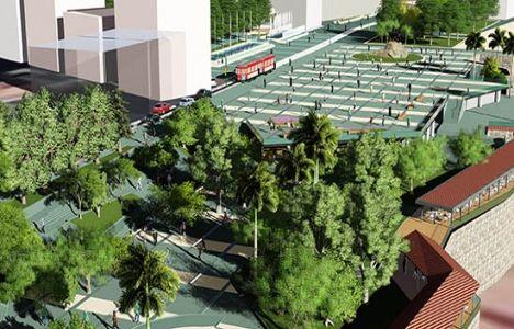 Antalya Cumhuriyet Meydanı'nın İnşaatı Başladı!
