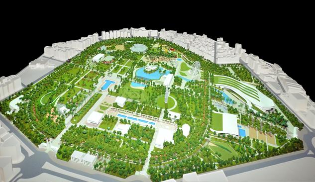İşte 'Yeni Kültürpark' Projesi