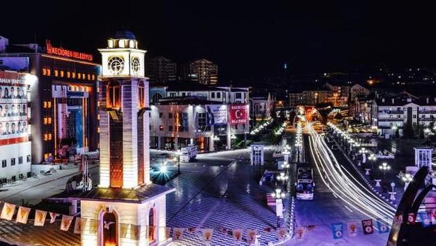Ankara Keçiören Meydanı Tamamlandı