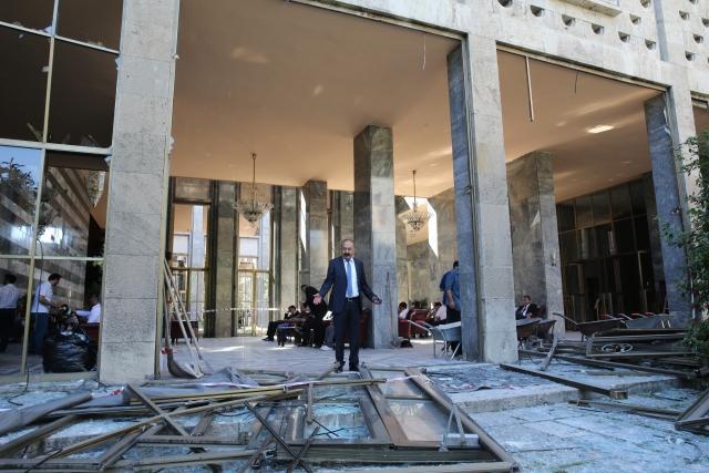 Meclis binasında inşaat başlıyor