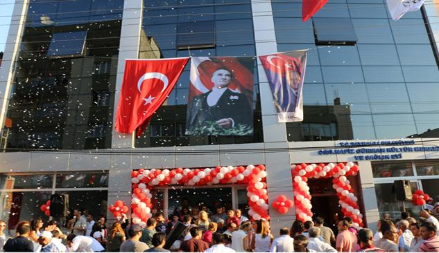 Nafiz Gürman Kültür Merkezi ve Sağlık Evi Açıldı